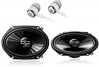 "Pioneer TS-G6820S 500 Watts Max Power 6×8/5""x7"" 2-Way G-Series Coaxial.."