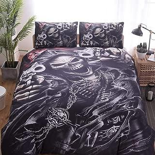 Best black skull bedding Reviews