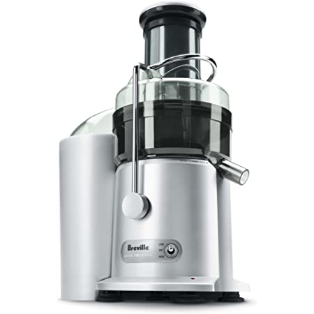 Breville JE98XL Juice Fountain Plus Centrifugal Juicer, Brushed Stainless Steel