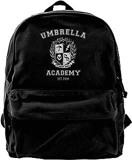 Mochila de Lona Umbrella Academy Varsity School Crest Mochila Gimnasio Senderismo Laptop Bolsa de Hombro Mochila para Hombres Mujeres