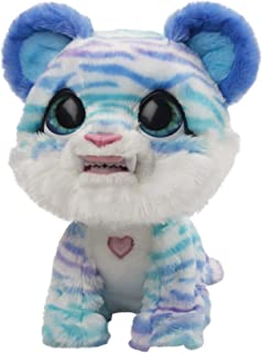 FurReal North the Sabertooth Kitty - white interactive plush toy - 35+ sounds & motions - Kids Companion Toys - Ages 4+