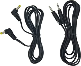 AV/DC Cable Combo for WONNIE 7.5/9.5/10.5 Inch Dual Screen DVD Player