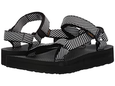 Teva Midform Universal (Candy Stripe Black) Women