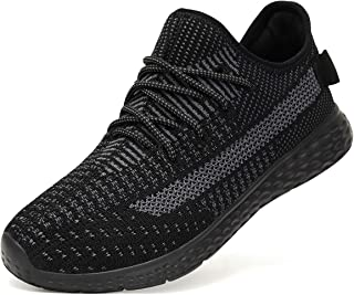 Zapatillas Hombres Zapatos Deportivos para Hombres - Zapatos Casuales para Caminar Antideslizantes de Moda Zapatos Deportivas Atléticos al Aire Libre Gimnasio
