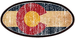 CafePress - Colorado Flag Patches - Patch, 4x2in Printed Novelty Applique Patch