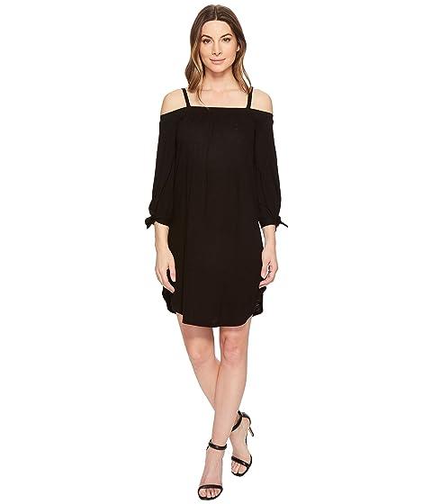 THREE DOTS Eco Knit Dress, Black