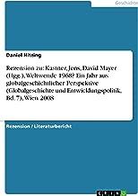 Rezension zu: Kastner, Jens, David Mayer (Hgg.), Weltwende 1968? Ein Jahr aus globalgeschichtlicher Perspektive (Globalgeschichte und Entwicklungspolitik, Bd. 7), Wien 2008 (German Edition)