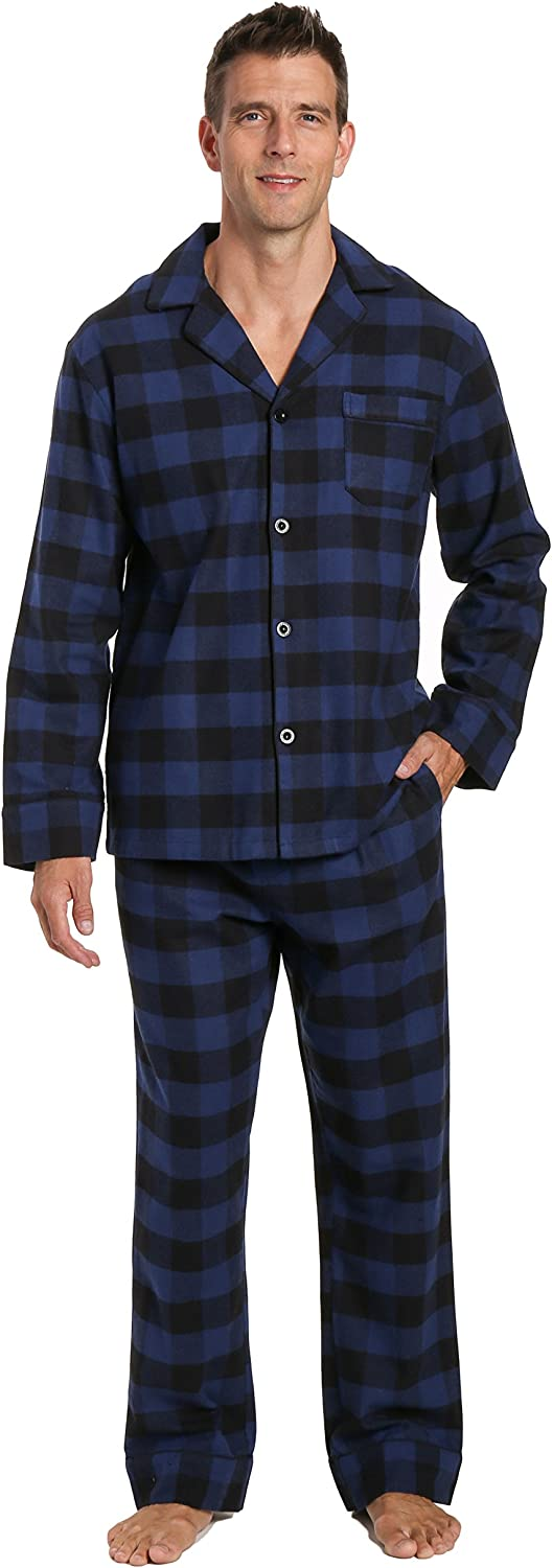 Noble 40% OFF Cheap Sale Mount Mens 100% Cotton Flannel Pajama Now free shipping Pant Set Pocket with
