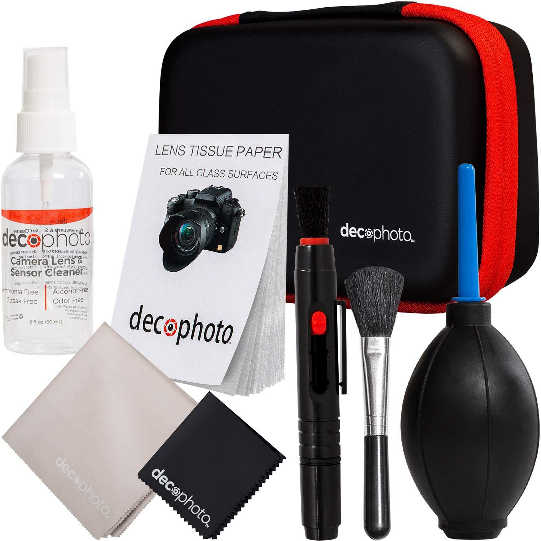 Deco Gear - Kit de limpieza todo en uno para cámaras réflex ...