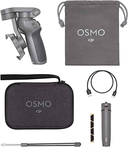 DJI Osmo Mobile 3 Combo - 3-Axis Smartphone Gimbal Handheld Stabilizer Vlog Youtuber Live Video for iPhone Android Sa...