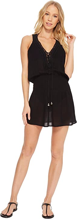 BECCA by Rebecca Virtue Globe Trotter Dress Cover-Up