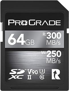 ProGrade Digital SDXC UHS-II V90 300R Memory Card (64GB)