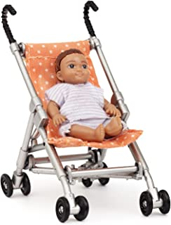 Melody Jane Dollhouse Lundby Modern Baby and Pushchair Stroller Buggy
