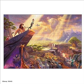 1000ピース ジグソーパズル Thomas Kinkade ライオン・キング The Lion King スペシャルアートコレクション (51x73.5cm)