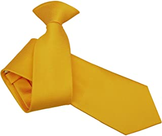DQT Men Plain Solid Check Wedding Formal Casual Groom Neck Tie in Various Style and Colours