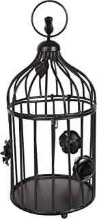 Cage for Home Decoration Metal Wall Art Decor Hanging for Home Living Room Bird Cage