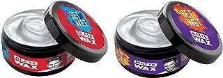 Set Wet Hair Styling Wax For Men Combo - Glaze Hair Wax + Matte Hair Wax