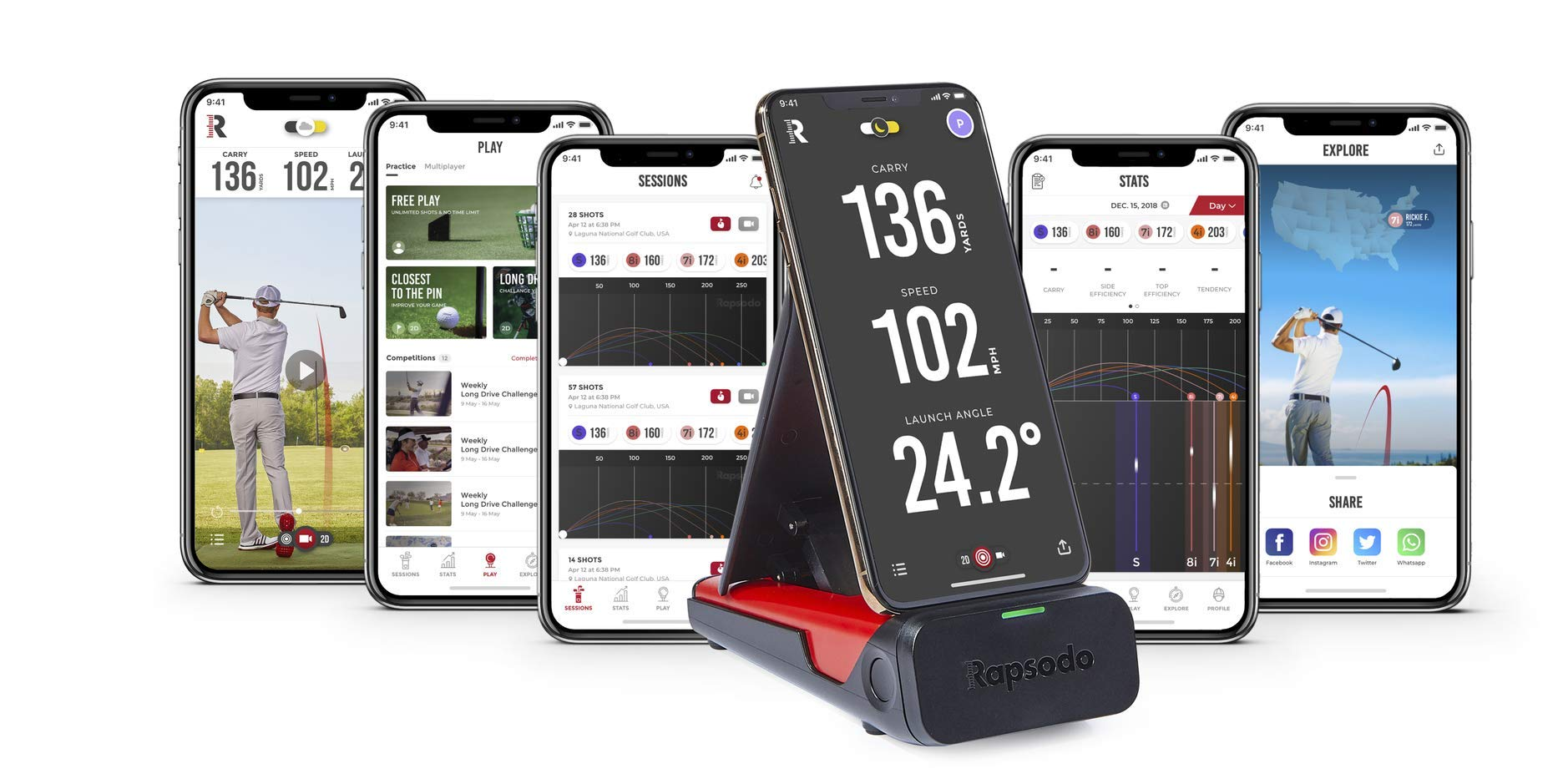 Rapsodo Mobile Launch Monitor Only