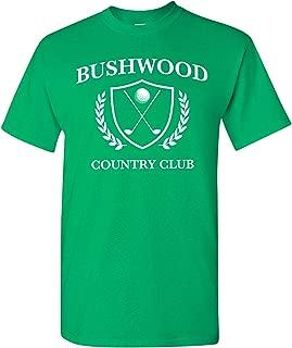 UGP Campus Apparel Bushwood Country Club - Funny Golf Golfing T Shirt