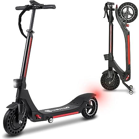 UWITGO Patinete Eléctrico Adulto de 350W hasta 25Km/h Scooter Electrico Plegable Neumáticos de 10 Pulgadas, Carga 150Kg, 3 Modos de Velocidad, Alcance ...