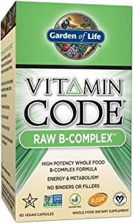 Garden Of Life, Raw Vitamin Code B Complex, 60 Count
