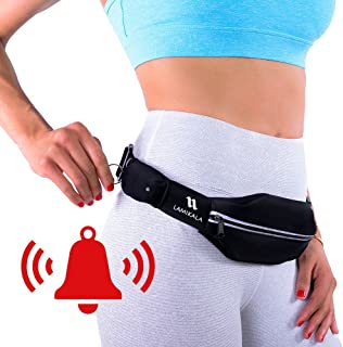 Lamikala Running Belt Fanny Pack with Personal Alarm,...