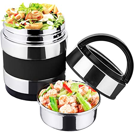 Outdoor Bento Lunch Box Steaming Rack Food Container Hiking Picnic Cooking