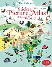 Sticker Picture Atlas of the World (Sticker Books)