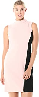 Sharagano womens colorblock dress Business Casual Dress