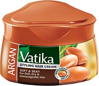 Vatika Hair Cream; Soft & Silky; Argan; 140ml