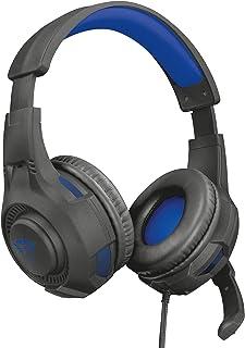 Trust Gaming Headset GXT 307B för PS4 och PS5 – Ravu kabelanslutna spelhörlurar med vikbar mikrofon och justerbart huvudba...