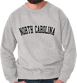 North Carolina Athletic Student Gym NC Gift Crewneck Sweatshirt