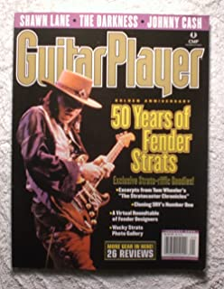 Stevie Ray Vaughan - 50 years of Fender Strats - Guitar Player Magazine - January 2004 - Johnny Cash Article