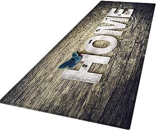 Awesomecar 60X180 cm Carpet Hallway Doormat Anti - Slip Carpet Absorb Water Kitchen Mat