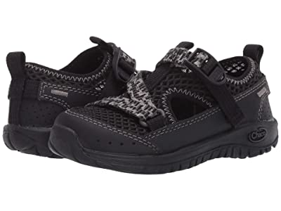 Chaco Kids Odyssey (Toddler/Little Kid/Big Kid) (Black 1) Kids Shoes