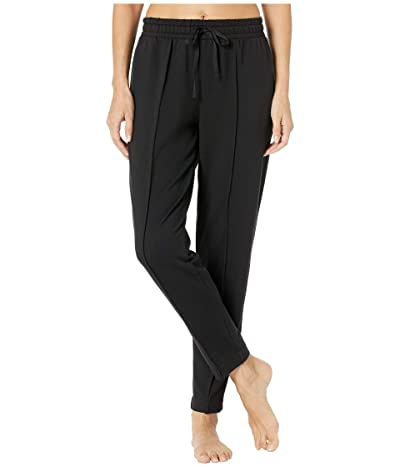 Donna Karan French Terry Ankle Pants (Black) Women