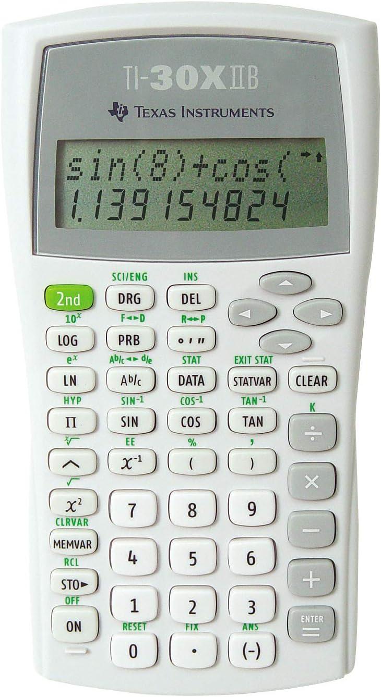 Manufacturer Popular brand regenerated product Texas Instruments TI-30X Solar Scientific Calculator w Ref Quick