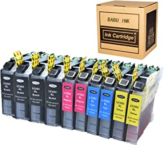 Luckytime Compatible Ink Cartridge Replacement For Brother LC203 Used with Brother MFC J480DW J680DW J880DW J460DW J485DW J885DW J5520DW J4320DW J4420DW J4620DW J5620 J5720DW Printer 10-pack