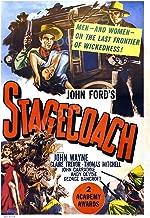 MCPosters - John Wayne Stagecoach Glossy Finish Movie Poster - MCP746 (24