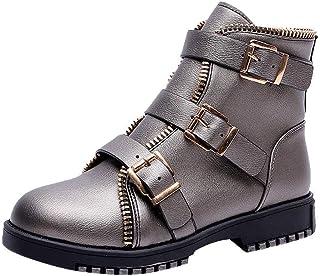 Amazon Piel Para Zapatos esDe Con MujerY Botas dBroWCxe