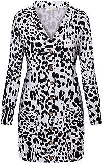 Women's Long Sleeve Casual Button Knit Long Cardigan