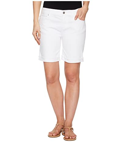 Liverpool Cassey Shorts in Comfort Stretch Denim in Bright White (Bright White) Women