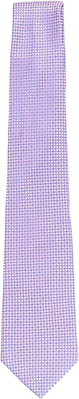 Canali Men's Micro Square Pattern Necktie