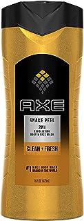 Axe Exfoliating Shower Gel, Snake Peel, 16 Ounces (Pack of 6)