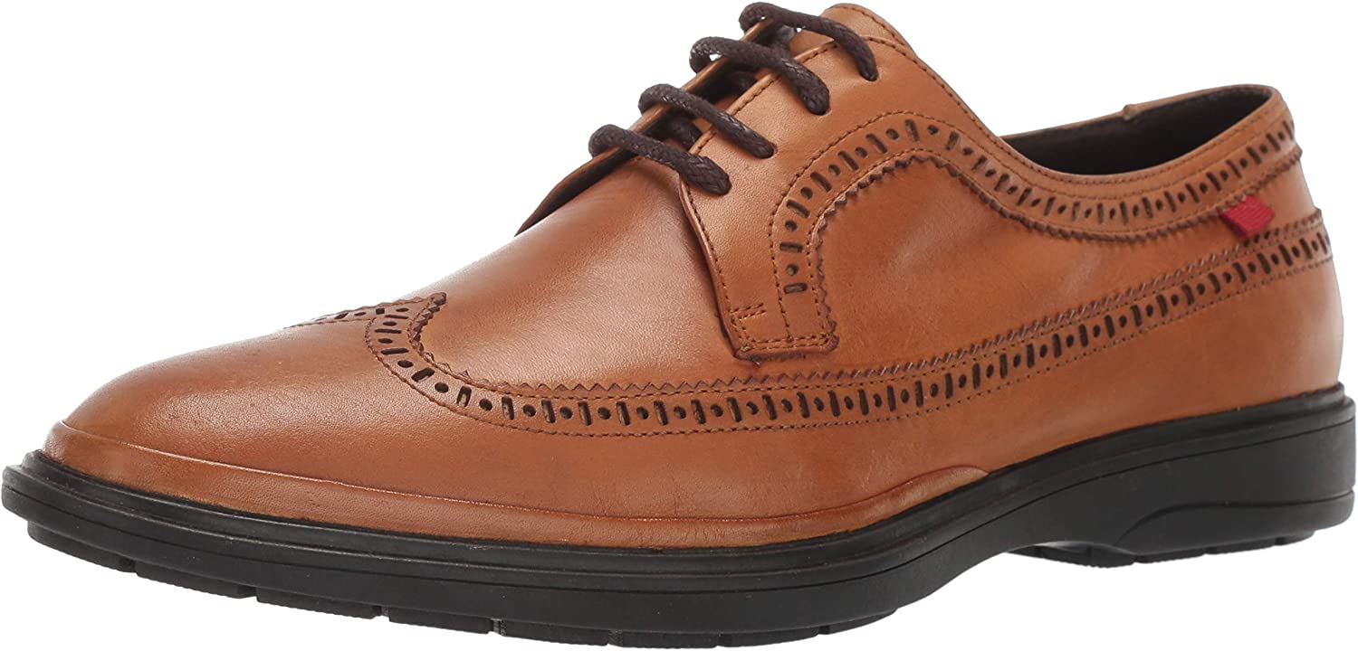 MARC JOSEPH NEW YORK Men's Genuine Leather Made in Brazil William Street Oxford shoes