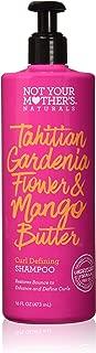 Not Your Mother's Naturals Tahitian Gardenia Flower & Mango Butter Curl Defining Shampoo 16 Fl oz