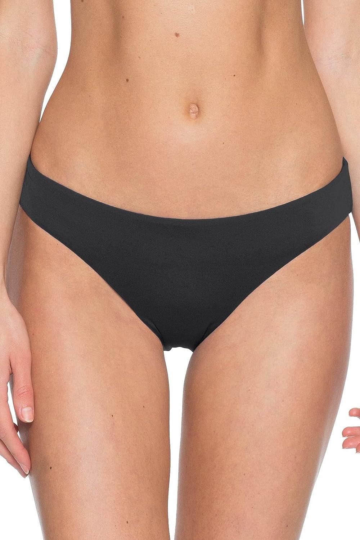 Becca by Rebecca Virtue Women's Color Code Adela Ruched Hipster Bikini Bottom