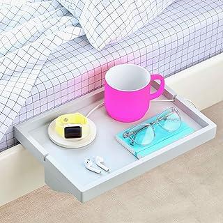 BedShelfie The Original Bedside Shelf - 9 Colors / 2 Sizes - AS SEEN ON Business Insider (Regular, Light Grey)