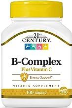 21st Century B Complex Plus Vitamin C, 100 Tablets