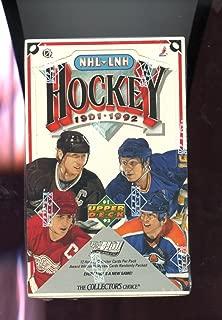 1991-92 Upper Deck Hockey Wax Pack Box Find The Bobby Hull Set UpperDeck 1992